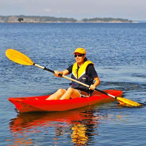 FALCON SOLO kayak modulable - Rouge