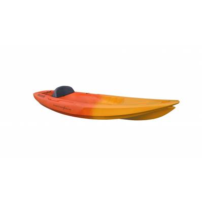 SEADOG Kayak solo - Orange / Rouge