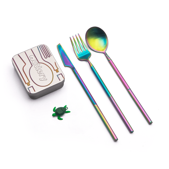 Set de couverts de poche Rainbow