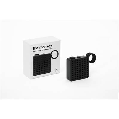 THE MONKEY Radio et enceinte Bluetooth - Noir