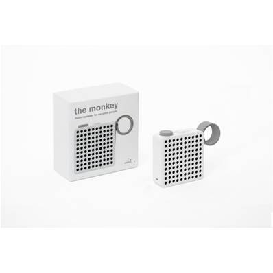 THE MONKEY Radio et enceinte Bluetooth - Blanc