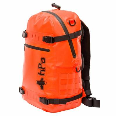 INFLADRY Sac à dos gonflable - 25 L - Orange